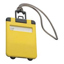 Privjesnica za prtljagu za osobne podatke Easy 7918 žuta