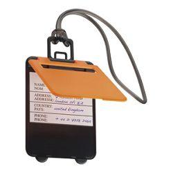Privjesnica za prtljagu za osobne podatke Easy 7918 narančasta