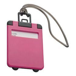 Privjesnica za prtljagu za osobne podatke Easy 7918 roza