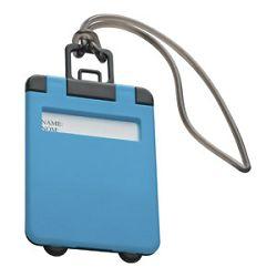 Privjesnica za prtljagu za osobne podatke Easy 7918 svijetlo plava