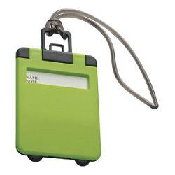 Privjesnica za prtljagu za osobne podatke Easy 7918 svijetlo zelena
