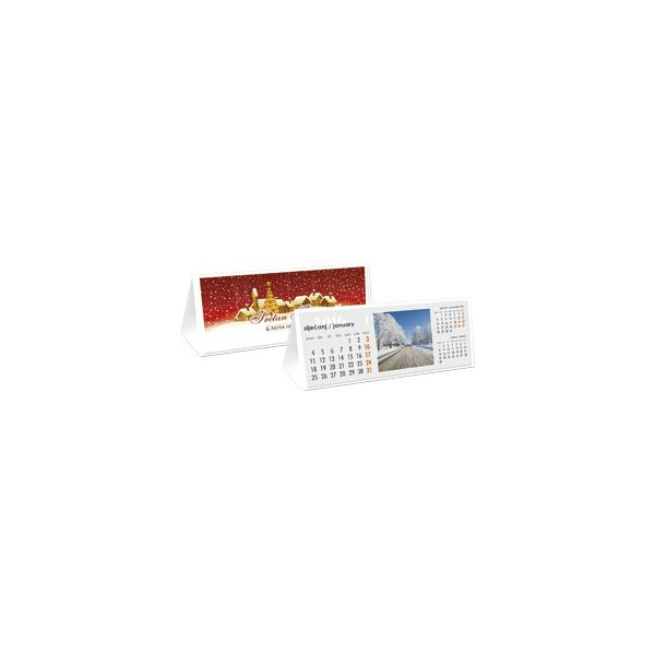 Kalendar stolni čestitka s kuvertom