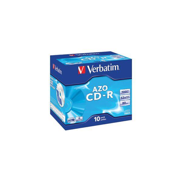 CDR 70080 52x JC AZO Crystal Verbatim 43327