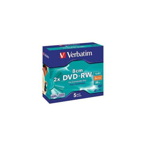 DVDRW mini 14GB 2x JC Mat Silver Verbatim 43513