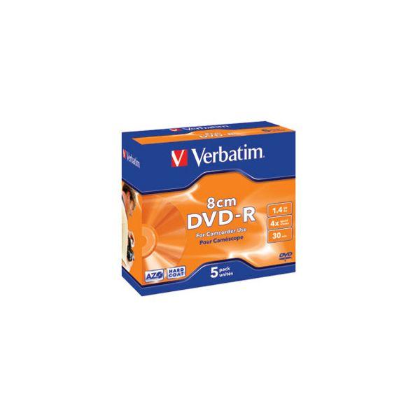 DVDR mini 14GB 4x JC Mat Silver Verbatim 43510