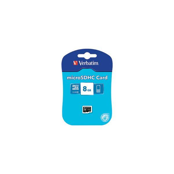 Kartica memorijska micro SDHC  8GB Verbatim 44004 blister