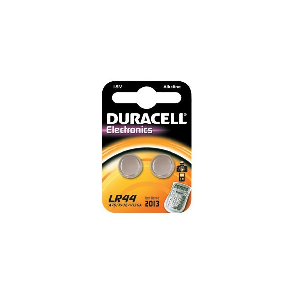 Baterija alkalna 15V pk2 Duracell LR44 blister