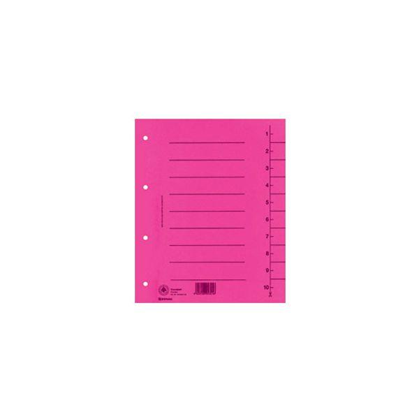 Pregrada kartonska A4 250g Donau roza