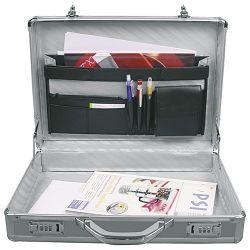 Torba-kofer aluminijska srebrna