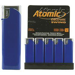Upaljač elektronski sjajni Atomic Swing plavi
