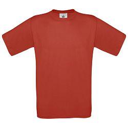 Majica kratki rukavi B&C Exact 150g crvena L!!