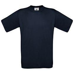 Majica kratki rukavi B&C Exact 150g tamno plava S!!
