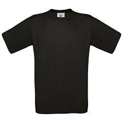 Majica kratki rukavi B&C Exact 150g crna S!!
