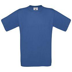 Majica kratki rukavi B&C Exact 150g zagrebačko plava S!!