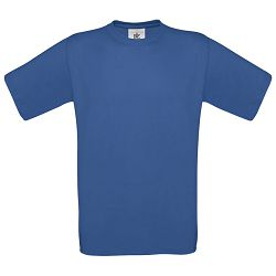 Majica kratki rukavi B&C Exact 150g zagrebačko plava M!!