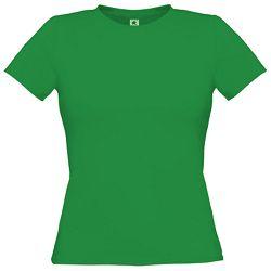 Majica kratki rukavi B&C Women-Only 150g crvena S!!