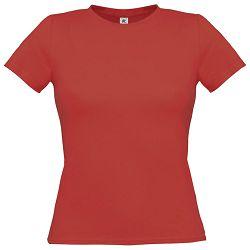Majica kratki rukavi B&C Women-Only 150g crvena XS!!
