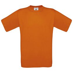 Majica kratki rukavi B&C Exact 150g narančasta S!!