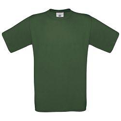 Majica kratki rukavi B&C Exact 150g tamno zelena S!!
