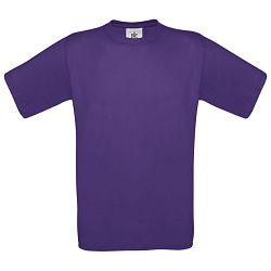 Majica kratki rukavi B&C Exact 150g ljubičasta 2XL!!