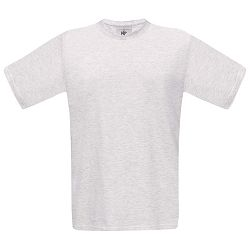 Majica kratki rukavi B&C Exact 150g pepeljasto siva 2XL!!