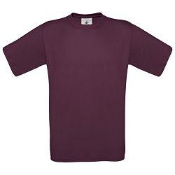 Majica kratki rukavi B&C Exact 150g bordo 2XL!!