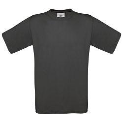 Majica kratki rukavi B&C Exact 150g isprana crna 2XL!!
