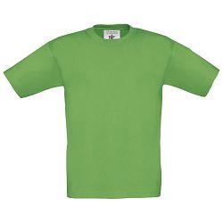 Majica kratki rukavi B&C Exact Kids 150g zelena 9/11!!