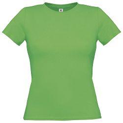 Majica kratki rukavi B&C Women-Only 150g zelena S!!