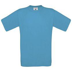 Majica kratki rukavi B&C Exact 150g atol plava M!!