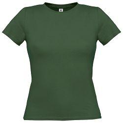 Majica kratki rukavi B&C Women-Only 150g tamno zelena S!!