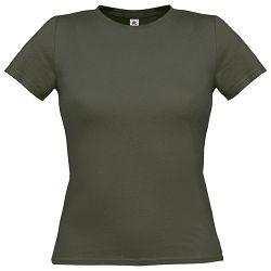 Majica kratki rukavi B&C Women-Only 150g maslinasto zelena M!!
