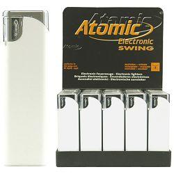 Upaljač elektronski sjajni Atomic Swing bijeli
