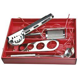 Set za špagete metalni u poklon kutiji