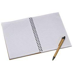 Blok kolegij A5 crte  60L natur s kartonskom olovkom kemijskom