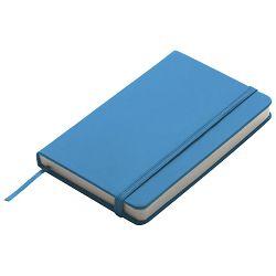 Notes  9x14cm čisti 96L s gumicom svijetlo plavi