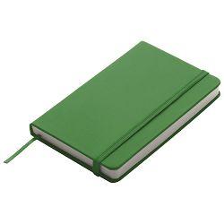 Notes  9x14cm čisti 96L s gumicom zeleni