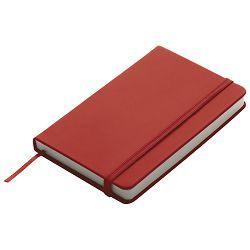 Notes  9x14cm čisti 96L s gumicom crveni