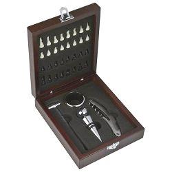 Set za vino+igra šah u poklon kutiji