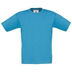 Majica kratki rukavi B&C Exact Kids 150g atol plava 5/6