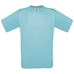 Majica kratki rukavi B&C Exact 150g tirkizna L!!