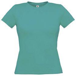 Majica kratki rukavi B&C Women-Only 150g tirkizna L!!
