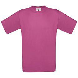 Majica kratki rukavi B&C Exact 150g roza 2XL!!