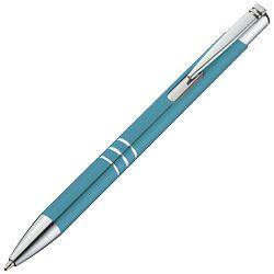 Olovka kemijska metalna Ascot svijetlo plava