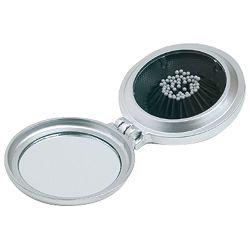 Ogledalo sa češljem srebrno