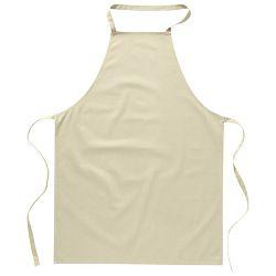 Pregača za kuhanje pamučna 65x90cm bež