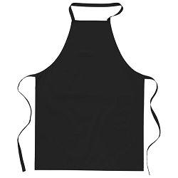Pregača za kuhanje pamučna 65x90cm crna