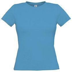 Majica kratki rukavi B&C Women-Only 150g atol plava XS!!