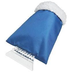 Strugalica leda sa rukavicom plava