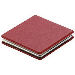 Ogledalo džepno sa magnetom crveno